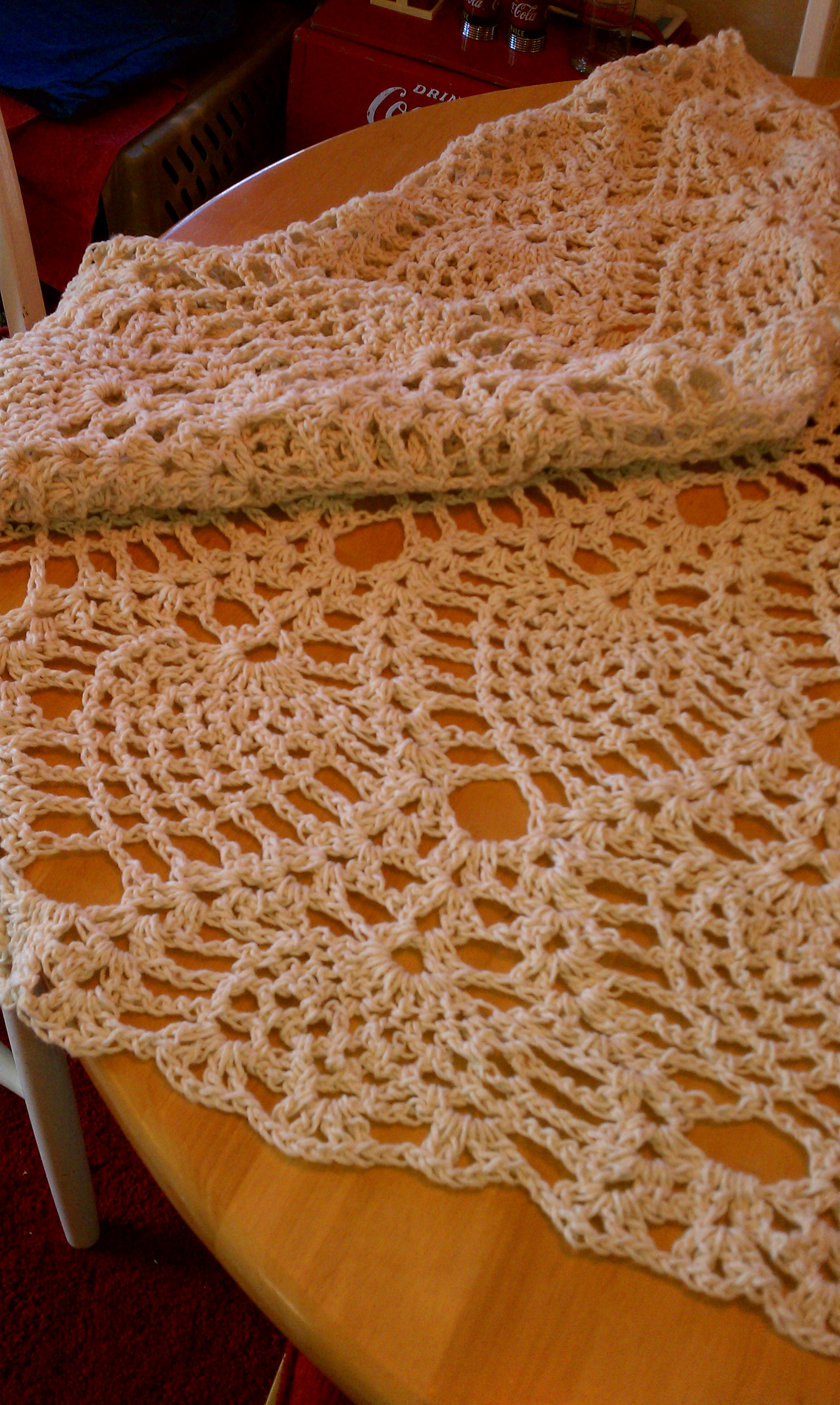 free crocheted afghan pattern pineapple crochet and